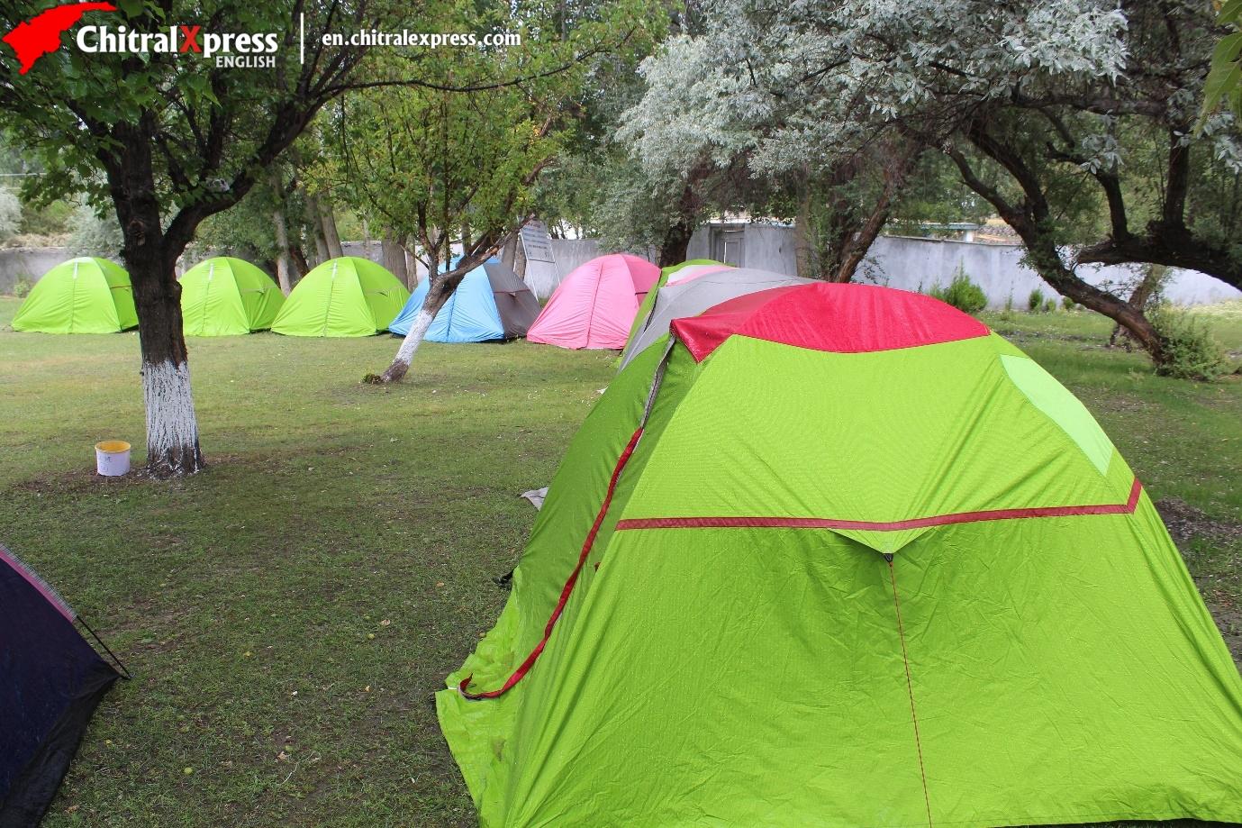 Tent Village at Laspur